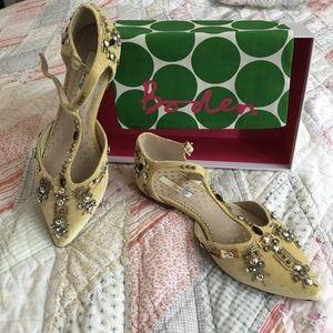 Boden velvet shoes